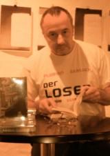 Der Autor Florian Gerlach - Lesung im Stadt Café Osnabrück am 06.11.2014 | Lesungstermine bitte über das Kontaktformular anfragen • https://florian-gerlach-autor.de